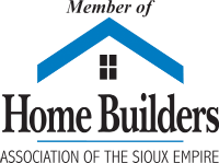 Member of the Home Builders Association of The Sioux Empire Logo