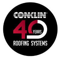 Conklin Roofing Systems Logo - 40 Years